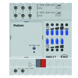 Theben KNX Universele-Dimactor 2-voudig, basismodule