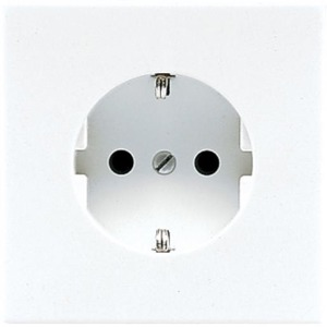 Jung LS range wandcontactdoos RA 1V Cremewit/elektrowit LS520N