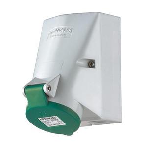 Mennekes WCD 32A 4P 10H >50V 100-300HZ IP44 TWIN