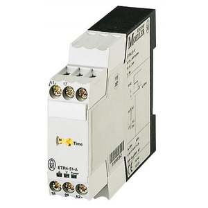 Eaton Tijdrelais ETR4-51-A, (24-240VAC50/60HZ, 24-48VDC), Ster/Driehoek