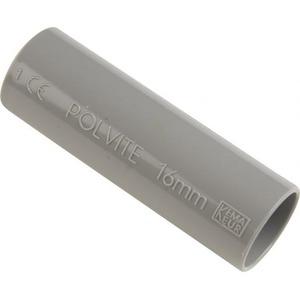 Pipelife Polvite VSV sok slagvast 16mm donker grijs RAL7037