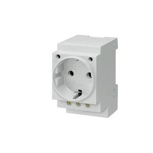 Siemens 5TE Wandcontactdoos RA 1V Grijs 5TE6800
