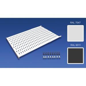 """Minkels Varicon Componenten uitbouw kast 19""""-montagerek H25mm B482,6mm D800mm MPL0015"""