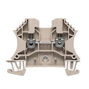 Weidmuller W-serie Verbindingsrijgklem 0,5-4mm²  eendr. 1,5-4mm² meerdr. Beige 1023700000