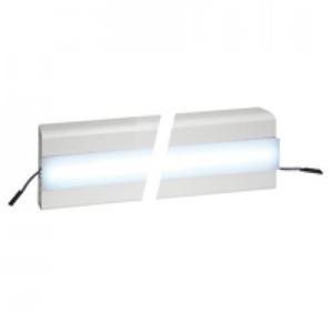 Legrand LED DEKSEL 45 MM VOOR SNAP-ON WANDGOTEN/ENERGIEZUILEN WIT L=2000MM