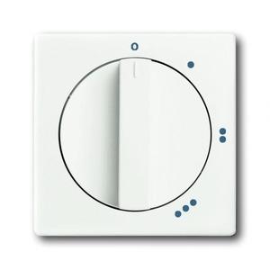ABB Busch-Jaeger Future linear bedieningselement Standenschakelaar Draaigreep Wit 2CKA001710A3890