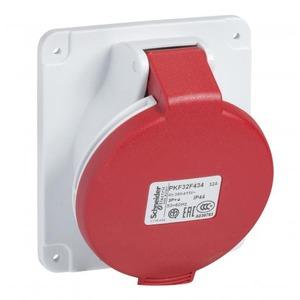 Schneider Electric CEE INBOUWCONT.DOOS 16A 3P 400V 9H IP44