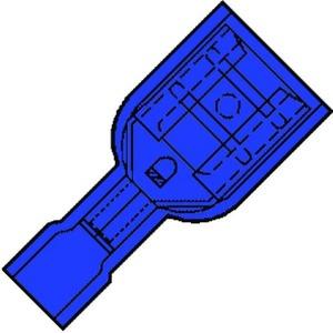 Klemko Is 2507fl vlakstifth 2,5 blauw