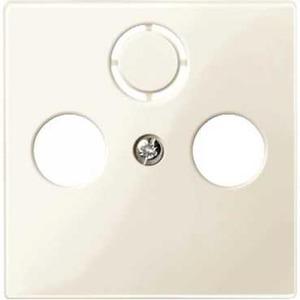 Merten Slagvast Onderdeel/Centraalplaat Centraalplaat Kunststof Crèmewit (elektrowit) MTN296744