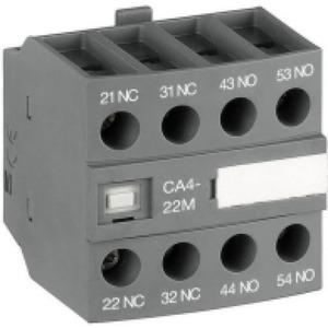 ABB Hulpcontact frontmontage 4blok 3NO+1NC tbv magneetschakelaar AF09, AF16..