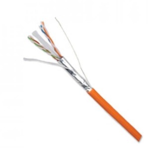 NCS LANMARK-6A F1/UTP AWG23 CAT 6A LSZH ORANGE 500M REEL