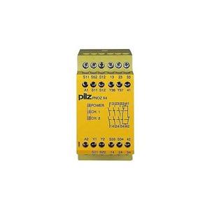 Pilz PNOZ X4 24VDC 3N/O 1N/C RELAIS