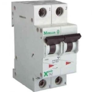 Eaton Installatieautomaat FAZ-C1/1N , C 1A , 2 Polig incl. NUL , 15 kA