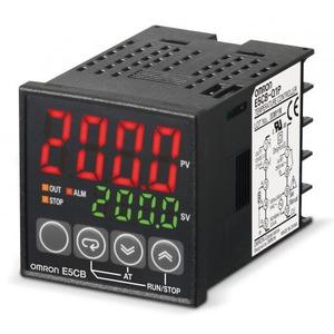 Omron Temperatuurregelaar, 48x48 mm, sensor-ingang: thermokoppel, 100-240 VA