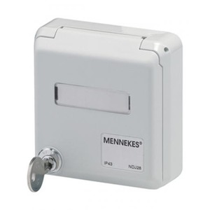 Mennekes CEPEX DATA INBOUW AMP TWIST IP44 A WIT