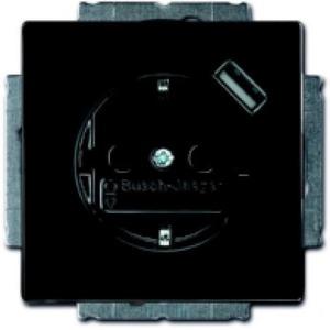 ABB Busch-Jaeger CARAT, Future linear wandcontactdoos RA 1V KV Antraciet 2011-0-6158