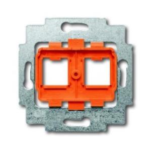 ABB Busch-Jaeger AXCENT, Alpha exclusive, Alpha nea bodemplaat schakelmateriaal 2-voudig Oranje 1753-0-8056