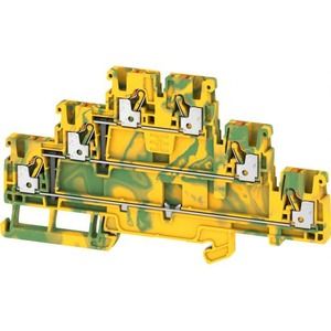 Weidmuller MULTI-TIER MODULAR TERMINAL, PUSH IN, 2.5MM2, NUMBER OF LEVELS: 3, GR