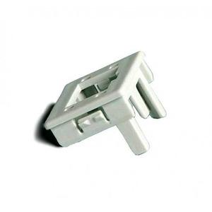 Attema Adapter Onderdeel/Centraalplaat Modular-Jack Modulair element voor schakelmateriaal Kunststof Grijs 1980