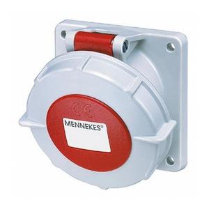 Mennekes INBOUWCONTACTDOOS 32A5P 6H400V IP67, FLENS 85X85MM