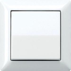 Jung AS500 bedieningselement Aan-/uit-schakelaar Enkele wip Wit AS590WW
