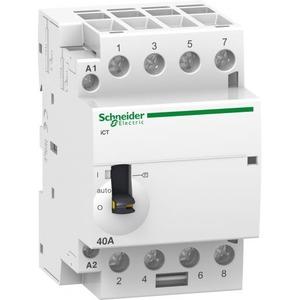 Schneider Electric Ict magneetschakelaar 4p 4m 40a hand 230