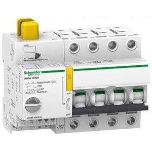 Schneider Electric REFLEX iC60H Ti24 10 A 4P C MCB+CONTROL