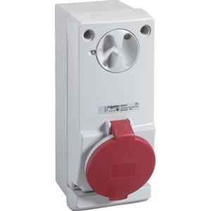 Schneider Electric CEE WANDCNTDS VERGR 32A 4P 400V 6H IP44