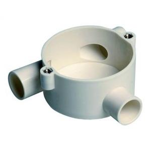 Attema Top-T-doos met achterinvoer Ø 16 mm