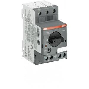 ABB Motorbeveiligingsschakelaar range 0,1-0,16a incl.hulpcontact 1m+1v