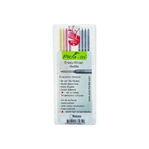 Bizline Gekleurde reservestift voor potloodstift grafiet PICA DRY BIZ 790214