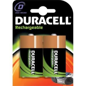 Duracell NIMH BAT.1,2V 2200MA MONOCEL D BL2