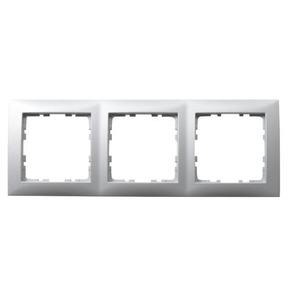Berker S.1 Afdekraam 3v Horizontaal en verticaal Aluminium IP20 10139939