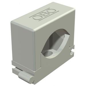 OBO Rijg-druk-zadel 6-13mm, PA, lichtgrijs, RAL 7035