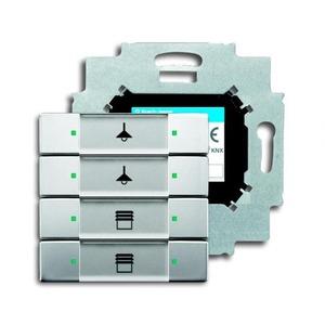 ABB Busch-Jaeger KNX sensor 4v m bau pure-rvs