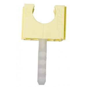 Pipelife POLFIX PVC KABELBUISKLEM MET PLUG 16MM CREME 1196900830