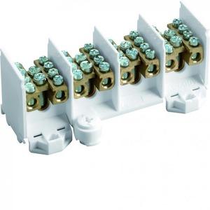 Hager K aansluitklem voor hoofdkabel 4p DIN-rail/schroef 16-aansluitingen K28N