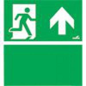 Eaton Blessing BL ISO Perspexplaat t.b.v. Evoled S-i, pijl omhoog+groen vlak