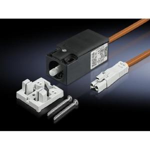 Rittal SZ Deursch m Aansl.kabel 0,6mtr oranje