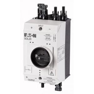Eaton DC-lastscheider, 20A, opbouw, 4 ingangen MC4/MC4