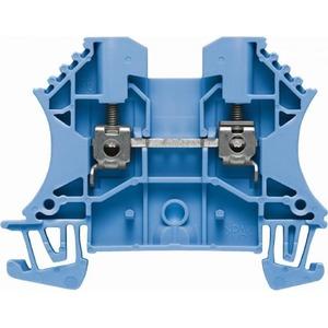 Weidmuller W-serie Verbindingsrijgklem 0,5-10mm²  eendr. 1,5-10mm² meerdr. Blauw 1020280000