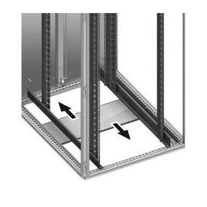 Rittal TS-IT Componenten uitbouw kast Vloerplaat B800mm D800mm 5502570