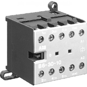 ABB Mini magneetsch. 5,5kW 400Vac 3polig spoelcode (0..1) Hulpcontact 1NO