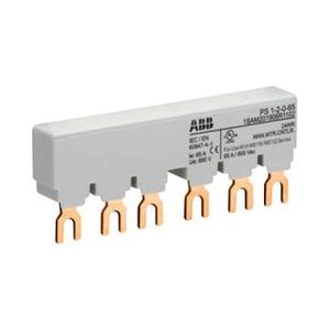 ABB verzamelrail voor 2 MS116/MS132, Ie=65A zonder hulpcontact