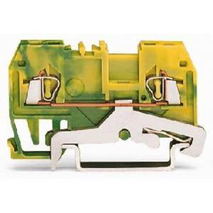 Wago aardrijgklem Groen/geel 279-907/999-950