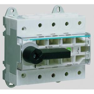 Hager Lastscheider 3-polig 125 A modulair