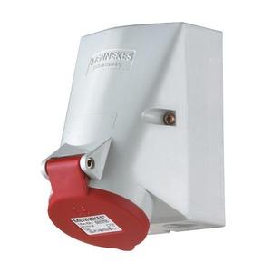 Mennekes WCD 32A 3P 9H 400V IP44 TWINCONTACT