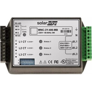 Solar Edge ENERGY METER MET MODBUS CONNECTION