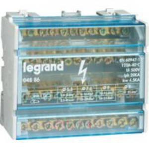Legrand Stroomverdeler Lexic modulair 4P 125A 6modules