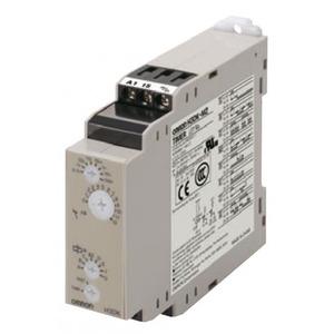 Omron Tijdrelais, H3DK-M, 22,5 mm, multirange, 8 functies, 12 VDC, 1xtijd